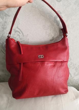 Красивая кожаная сумка collection debenhams