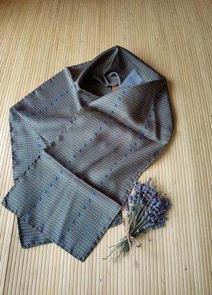 Шелковый / шёлковый шарф ручной работы