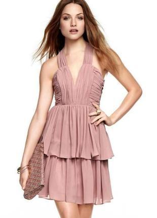 Нарядное платье от h&m в оттенке пыльная роза