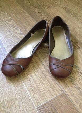 Легкі балеточки, туфлі на низькому ходу