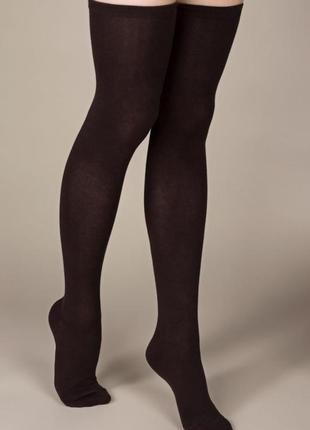 Гольфы, за колено.шоколадные, ботфорты, гетры, бесшовные, высокие носки, для танца