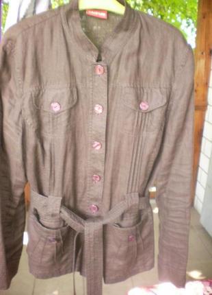 Легкий пиджак 52-54р