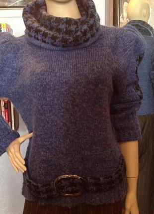 Очень миленький, теплый и элегантный свитер бренда  weilisidan, р. 50-52