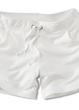 Белые шорты, хлопок джерси - tcm tchibo германия m-l