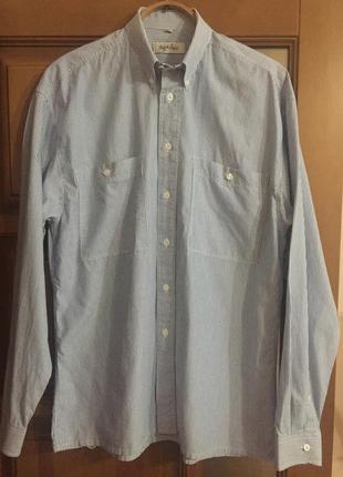 """Классная мужская рубашка """"с&a """" angelo litrico."""