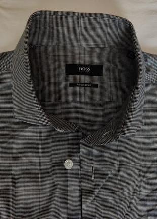 Рубашка hugo boss. size m