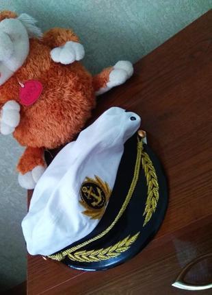 Новая летняя капитанская кепка с козырьком, размер