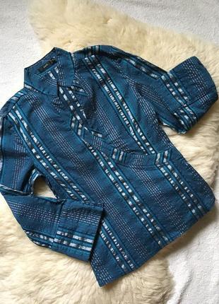 Эффектная блузка рубашка zero