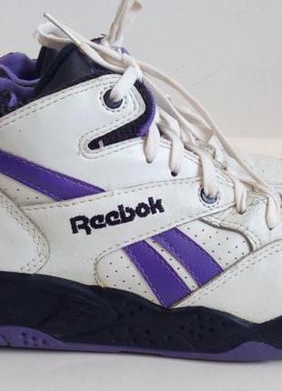 Кожаные ботинки кроссовки