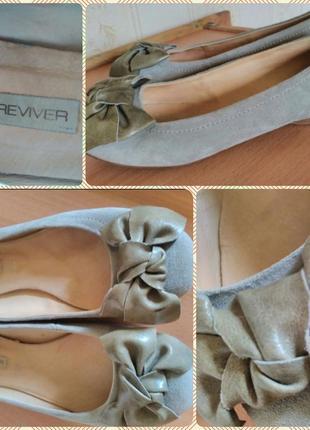 Замшевые балетки sole reviver by next р.6/39