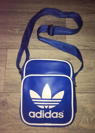 Фирменная сумка через плечо adidas original