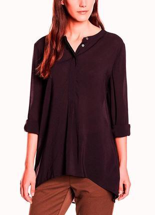 42-44р. свободная блузка-туника, вискоза тауп цвета marc o'polo