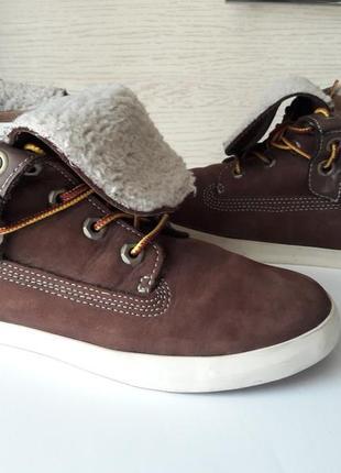 Деми ботинки от timberland.