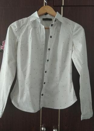 Блуза,рубашка из натуральной ткани альбина