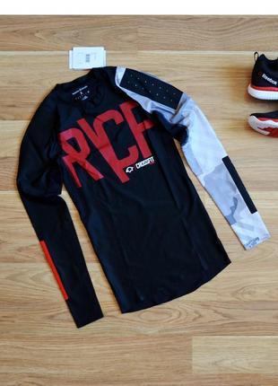 Рашгард компрессионная кофта термо лонгслив футболка с длинным рукавом reebok crossfit