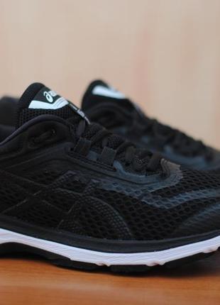 Черные беговые кроссовки asics gt-2000 6. оригинал. 40,5 размер