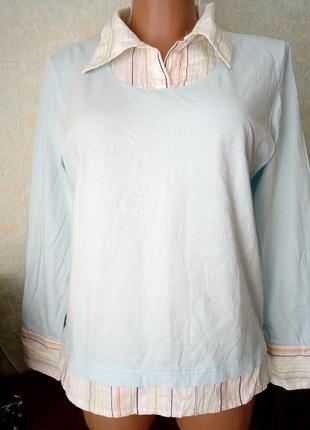Рубашка обманка р.м