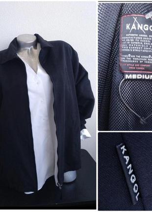 Куртка ветровка kangol черная бойфренд