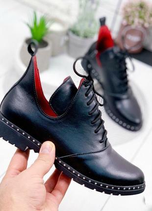 Туфли, ботинки, ботильоны бронза на низком ходу натуральная кожа