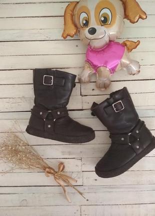 Качественные добротные кожаные ботинки pom d'api