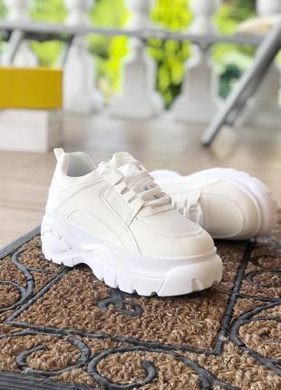 Хит! белые кроссовки! супер цена! наложка