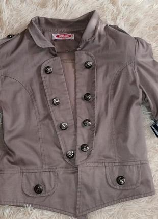 Пиджак, жакет, короткий рукав