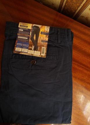 Мужские стрейчевые брюки livergy р.565 фото
