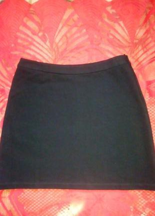 Классическая черная юбка, джерси,isabel de pedro