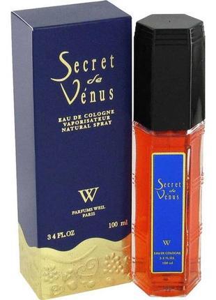Secret de venus weil, парфюмированный колонь