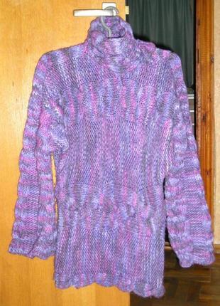 Пуловер женский зимний.