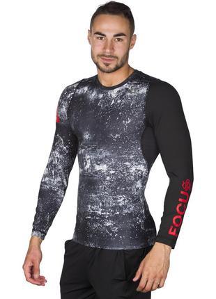 Рашгард компрессионная кофта термо лонгслив футболка с длинным рукавом reebok combat