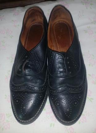 Туфли - оксфорды