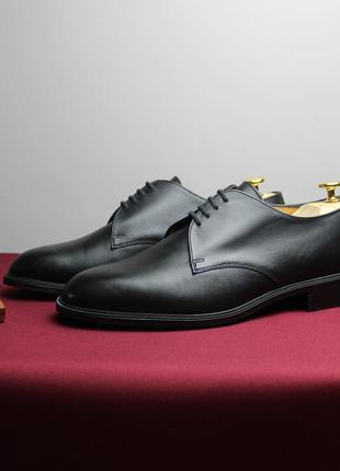 Классические туфли дерби bally (швейцария) 42 размер