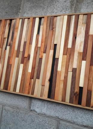 Панно, картина из дерева, декор, дизайн интерьера