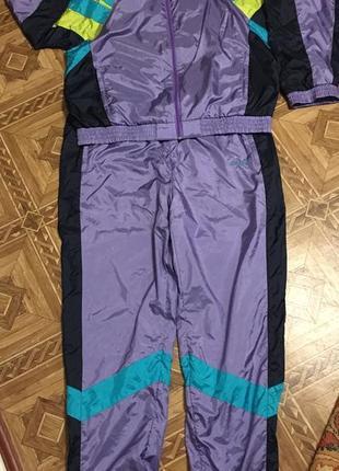 Винтажный спортивный костюм adidas{оригинал}р.l-xl