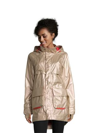 Новая, высокотехнологичная куртка burton золотистая парка 100% оригинал мембрана 10000 мм