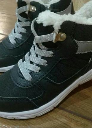 Ботинки с мехом h&m