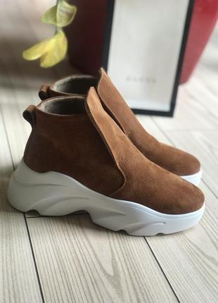 Ботинки в стиле zara