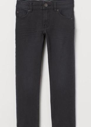 Зауженные стрейчевые твиловые брюки h&m
