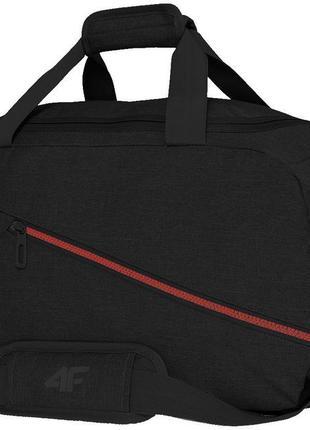 Сумка спортивна 4f black-red