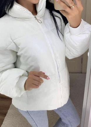 Хит! белоснежная женская куртка
