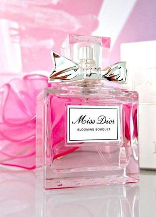 Christian dior miss dior blooming bouquet_original_eau de toilette 7 мл затест