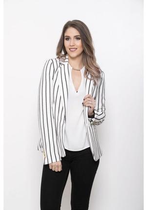 Подовжений, стильний пиджак mango