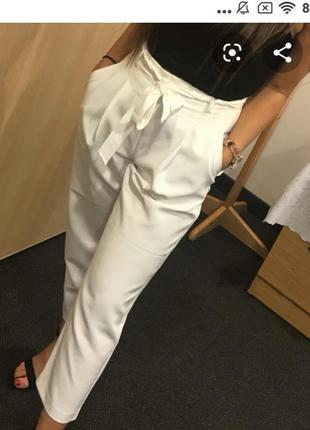 Шикарные брюки с  поясом от new look