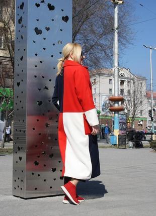Модное женское пальто шикарное качество