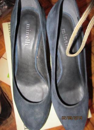 Туфли минели кожа р 38