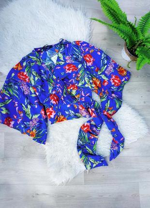 Блуза кимоно на запах