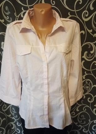 Полосатая рубашка в полоску