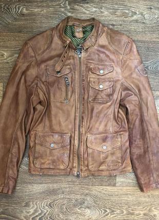 Gipsy mauritius кожаная куртка новая