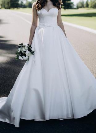 Свадебное платье nelly white